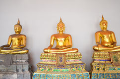 Buddha i Wat Pho Royaltyfri Fotografi