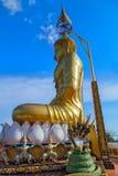 Buddha i Wat Tham Sua, Krabi, Thailand Arkivbilder