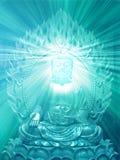 Buddha illustration Stock Photos