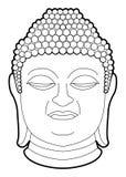 Buddha. Illustrator desain .eps 10 Royalty Free Stock Photography