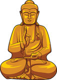 Buddha. Ilustrator design .eps 10 vector illustration