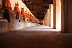 Buddha im ayuttaya siamesisch Lizenzfreie Stockfotografie