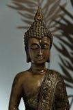 Buddha im Blau Stockbild