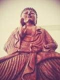 Buddha im Frieden Stockfotografie