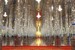 Buddha im Glastempel Wat Tha Sung Thailand Stockfoto