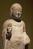 Buddha im Gold Stockfoto