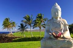 Buddha im Paradies lizenzfreies stockfoto