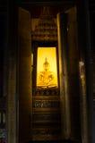 Buddha im siamesischen Tempel Stockfoto