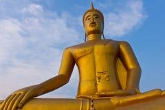 Buddha im Tempel. von, Bangkok Stockfotografie