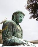 Buddha im Winter Stockfotografie