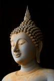 Buddha image. This is a Buddha statue in Phra Maha Chedi Chai Mongkol at thailand Royalty Free Stock Photography