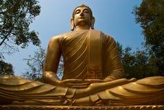 Buddha image. At Thai temple Royalty Free Stock Photography