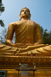 Buddha image. At Thai temple Stock Images
