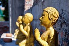 Buddha image. At wad bot donphrom ,nonthaburi,thailand Stock Image