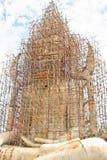 Buddha image. The Buddha image is build royalty free stock image