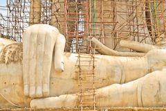 Buddha image. The Buddha image is build royalty free stock photos