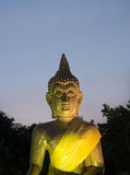 Buddha image. In amnatcharoen of thailand Royalty Free Stock Photos