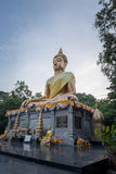 Buddha image. In amnatchroen of thailand Royalty Free Stock Images