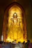 Buddha image at Ananda temple Stock Photography