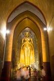 Buddha image at Ananda temple Stock Images