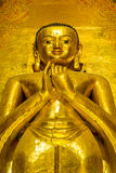 Buddha image at Ananda temple Royalty Free Stock Photo