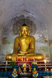 Buddha Image,   Bagan in Myanmar (Burmar) Royalty Free Stock Images