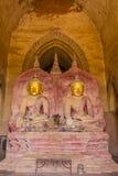 Buddha image , Bagan in Myanmar (Burmar) Royalty Free Stock Image