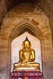 Buddha image , Bagan in Myanmar (Burmar) Stock Image