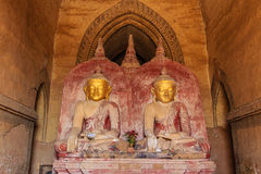 Buddha image , Bagan in Myanmar (Burmar) Royalty Free Stock Photography