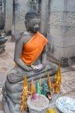 Buddha image at Bayon Royalty Free Stock Photos