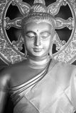 Buddha Image. Black and White Stock Photo
