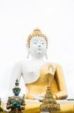 Buddha image at chiang mai temple Stock Image