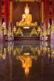Buddha image at chiang mai temple, Thailand Royalty Free Stock Photography
