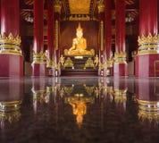 Buddha image at chiang mai temple, Thailand Stock Photography