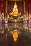 Buddha image at chiang mai temple, Thailand Stock Image