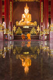 Buddha image at chiang mai temple, Thailand Стоковые Изображения