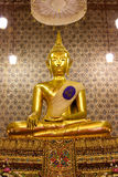 Buddha image in church Stock Photo