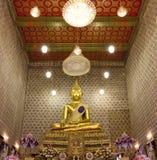 Buddha image in church Royalty Free Stock Photo