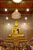 Buddha image in church Stock Images