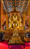 Buddha image in church of Wat Phumin temple. Stock Images