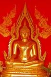Buddha Image. Golden Buddha image inside the temple of Thailand Stock Photography