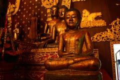 Buddha image. S in Chiang Rai Royalty Free Stock Photo