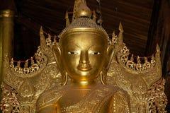 Buddha image at Nga Phe Chaung Monastery Myanmar Royalty Free Stock Photo
