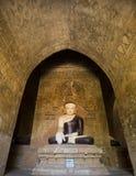 Buddha image and paintings. Royalty Free Stock Image