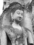 Buddha image2. Peacefull budha image sukothai art of thailand Royalty Free Stock Photography