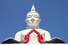 Buddha image - Phra Mongkol Muni Sri Nachuak Royalty Free Stock Photo