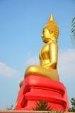 Buddha image Phra Phuttha Sothon or Luang Pho Sothon at Wat Bot Temple Stock Images