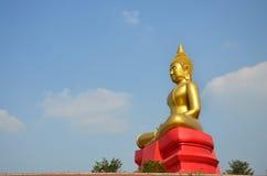 Buddha image Phra Phuttha Sothon or Luang Pho Sothon at Wat Bot Temple. Buddha image Phra Phuttha Sothon or Luang Pho Sothon that is one of the most worshiped stock images