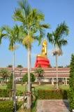 Buddha image Phra Phuttha Sothon or Luang Pho Sothon at Wat Bot Temple. Buddha image Phra Phuttha Sothon or Luang Pho Sothon that is one of the most worshiped stock photo