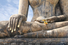 Buddha Image Ruin Royalty Free Stock Photography